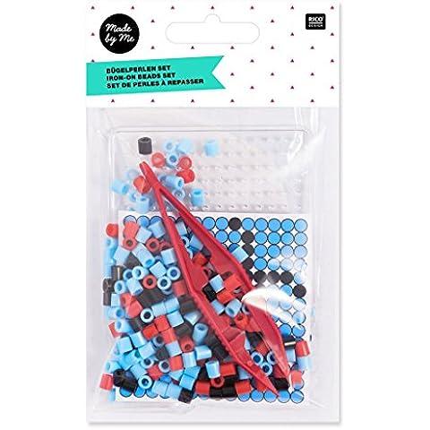 Kit di perle da stirare per bambini Made by Me 7 cm Coccinella