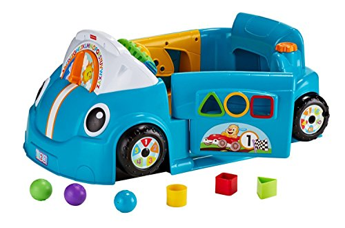 ferngesteuertes auto fisher price Fisher Price Lachen Und Lernen Smart Stufen Kriechen um Auto Blau - Englisch Sprechend / Laugh & Learn Crawl Around Car