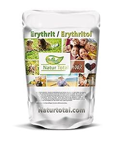 Naturtotal Erythritol Erythrit 5Kg - 5000g Beutel feinstes Erythrit - im...