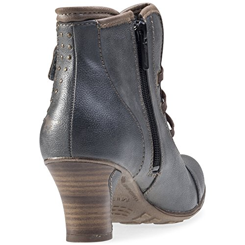 Mustang 1156601, Boots femme Sombre