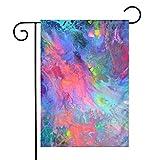 IconSymbol Bandiera fluida Decorativa per Esterni a Due facciate per Esterni Pittura fluida per Pittura 30cm x 45cm Bandiere stagionali per Cortile di casa