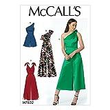 McCall's Patterns 7632E5de costura para romper y Jumpsuits, multicolor