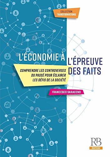 L'économie à l'épreuve des faits (Transformations) par Francesco Saraceno