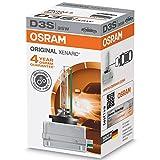 OSRAM  66340 XENARC ORIGINAL D3S HID - Lámpara de  descarga, 3200 lm, 35 W, 1 unidad