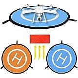 Drone Landeplatz für DJI Mavic Pro Kinder, Launch Pad von Triple Tree 75cm/76,2cm, perfekt für DJI Spark, Mavic Pro, Phantom 234inspirieren 1, für Solo Drone, Parrot Drohnen, Antel Robotic x-star, Syma, Hubsan, Heiligen Stein, UDI Drohnen etc..