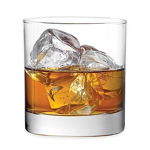 Classic Double Old Fashioned Glasses, 11 Oz., Set of 4 by Dailyware (Classic Fashioned Old Double)