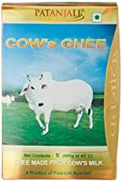 Patanjali Cow ghee is full of nutritive properties and an ideal diet. Cow ghee increases memory, intellect, the power of digestion, Ojas, Kapha and fat.Regular consumption of ghee or inclusion of ghee as part of the diet, is recommended for t...