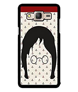 Fuson 2D Printed Cartoon Designer back case cover for Samsung Galaxy On7 - D4126