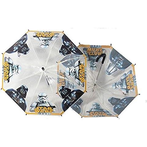 Ombrelli-Roma Mochila infantil, transparente (transparente) - ART. 612 STAR WARS T/N