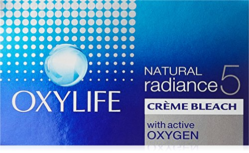 Oxy Life Natural Radiance5 Creme Bleach Oxygen Power with Skin Radiance Serum 27g by OxyLife