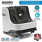 Agaro Relaxing Foot & Calf Massager for Pain Relief with kneading, rolling