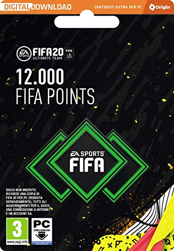FIFA 20 Ultimate Team - 12000 FIFA Points - Codice Origin per PC