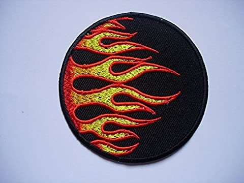 Costumes Flamme - Patches - Flamme - Flame - circle