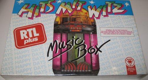 Preisvergleich Produktbild Hits mit Witz - Ass - MusicBox - RTLplus - Brettspiel