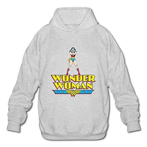 AOPO WW Wonder Woman Logo–Camiseta Manga Larga