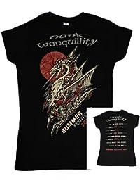 Dark Tranquillity, Girlie Frauen T-Shirt, Festivals 2016