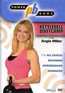 Kettlebell Bootcamp With Angie Miller Power Body DVD - Region 0 worldwide
