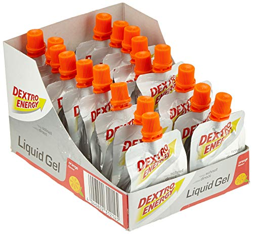 Dextro Energy Liquid Gel Box 18 Beutel 60ml - Orange -