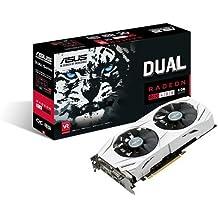 Asus Dual-RX480-O8G Gaming AMD Radeon Grafikkarte (8GB DDR5 Speicher, PCIe 3.0, HDMI, DVI, DisplayPort)
