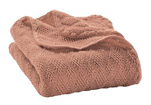 Disana Babydecke 80 x 100 cm aus Merino-Schurwolle kbT, rose