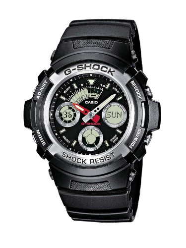 Casio-G-Shock-Mens-Quartz-Watch-with-Black-Dial-Analogue-Digital-Display-and-Black-Resin-Strap-AW-590-1AER