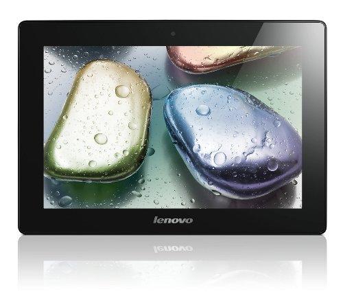Lenovo IdeaTablet S6000-H 25,7 cm (10,1 Zoll mit IPS Technologie) Tablet-PC (QuadCore Prozessor 1,2GHz, 1GB RAM, 32GB eMMC, 5MP Kamera, UMTS, Android 4.2) schwarz