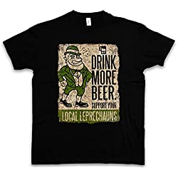 DRINK MORE BEER FUN T-SHIRT – diablillo cerveza Irlanda