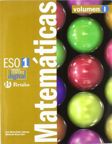 ContextoDigital Matemáticas 1 ESO - 3 volúmenes