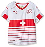 PUMA Kinder Trikot Suisse Away Replica Shirt