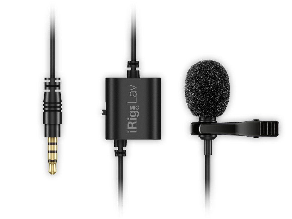 IK Multimedia iRigMicLav Microphone Noir