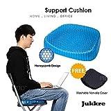 Jukkre Egg Sitting Gel Flex Cushion Seat Sitter Flex Pillow Back Support Sit