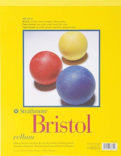 strathmore-bristol-vellum-paper-pad-11-x-14-20-fogli