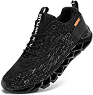 LARNMERN Scarpe da Ginnastica Uomo Donna Corsa Respirabile Mesh Sportive Fitness Running Sneakers Basse Interi
