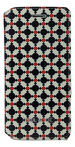 Paul & Joe pji647_ CRA Tie Print Book Case per Apple iPhone 6/6S blu