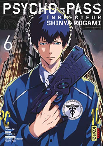Psycho-pass Inspecteur Shinya Kôgami Edition simple Tome 6