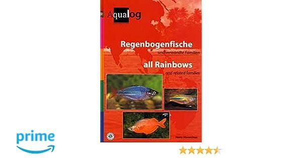 Regenbogenfische Und Verwandte Familien *neu* Aqualog Fische & Aquarien
