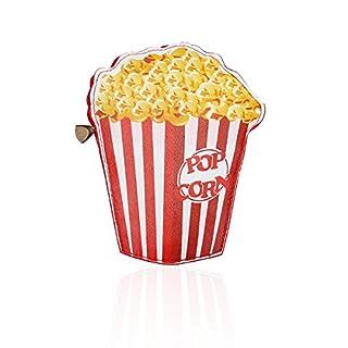 Latinaric Damen Mädchen Kette Umhängetasche Geldbörse Handtasche Popcorn Form für Handy Geldtasche