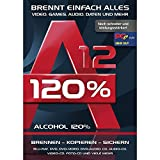 N/A Alcohol 120% Version 12 Vollversion, 1 Lizenz Windows Brenn-Software