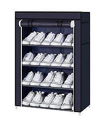 PAffy Shoe Cabinet, 4-5 Layer, Shoe rack organiser, Random Colours