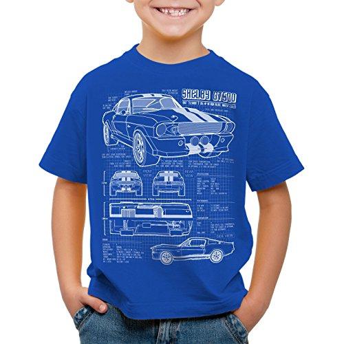 style3-gt-500-cianotipo-camiseta-para-ninos-t-shirt-fotocalco-azul-colorazultalla116