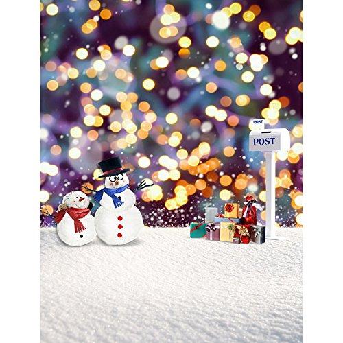 tal Schneemann Winter Mailbox Snow Fotografie Studio Hintergrund ()