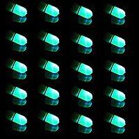 Alomejor Fischerei Bissanzeiger ABS Nachtsicht Elektronische Glocke Angelrute Elektronische Fisch Biss Sound Signal Tracker Intelligente Erinnerung Angelzubeh/ör