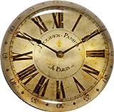 GlasXpert Glasmagnet Kühlschrankmagnet Magnet Uhr antik Glasmagneten