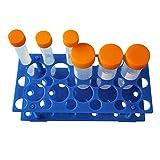 Tamaño pequeño BIPEE Centrifugadoras desmontable tubo estante para 10 ml/15 ml, 50 ml dos escurrecubiertos