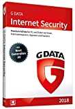 G DATA Internet Security (2018) | Antivirus Software | Virenschutz für 3 Windows-PC | 1 Jahr