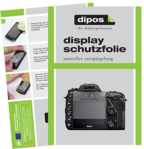 dipos I 6X Schutzfolie matt passend für Nikon D7500 Folie Displayschutzfolie