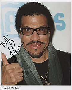 Lionel Richie unterzeichnet Foto 1. Generation Print LTD 150+ Zertifikat (3)