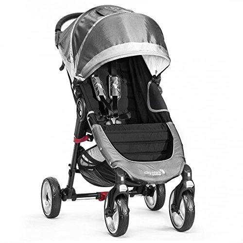 Baby Jogger City Mini 4 - Silla de paseo, color gris