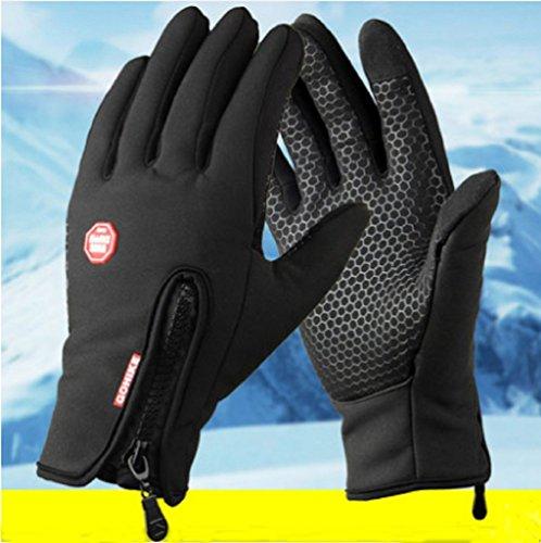 phego Touchscreen Handschuhe Outdoor Sport Damen Warme Fahrradhandschuhe Winddicht und Touchscreen geeignet (M)