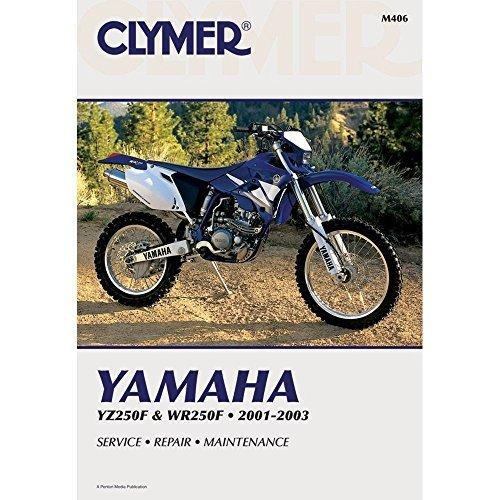 Esaska(TM) BRAND NEW - Clymer Yamaha Yz250f & Wr250f 2001-2003 M406